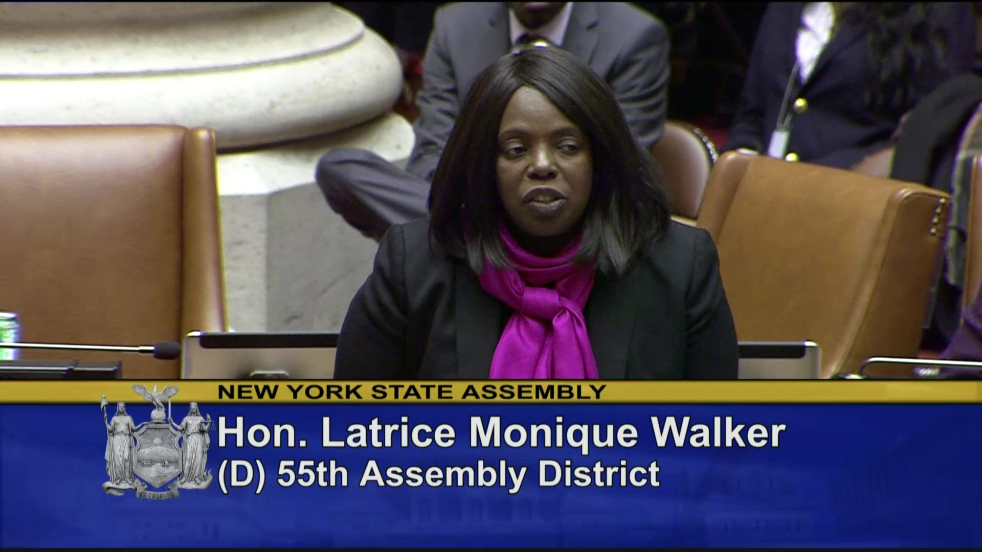 Assemblywoman Walker On The Reproductive Health Act