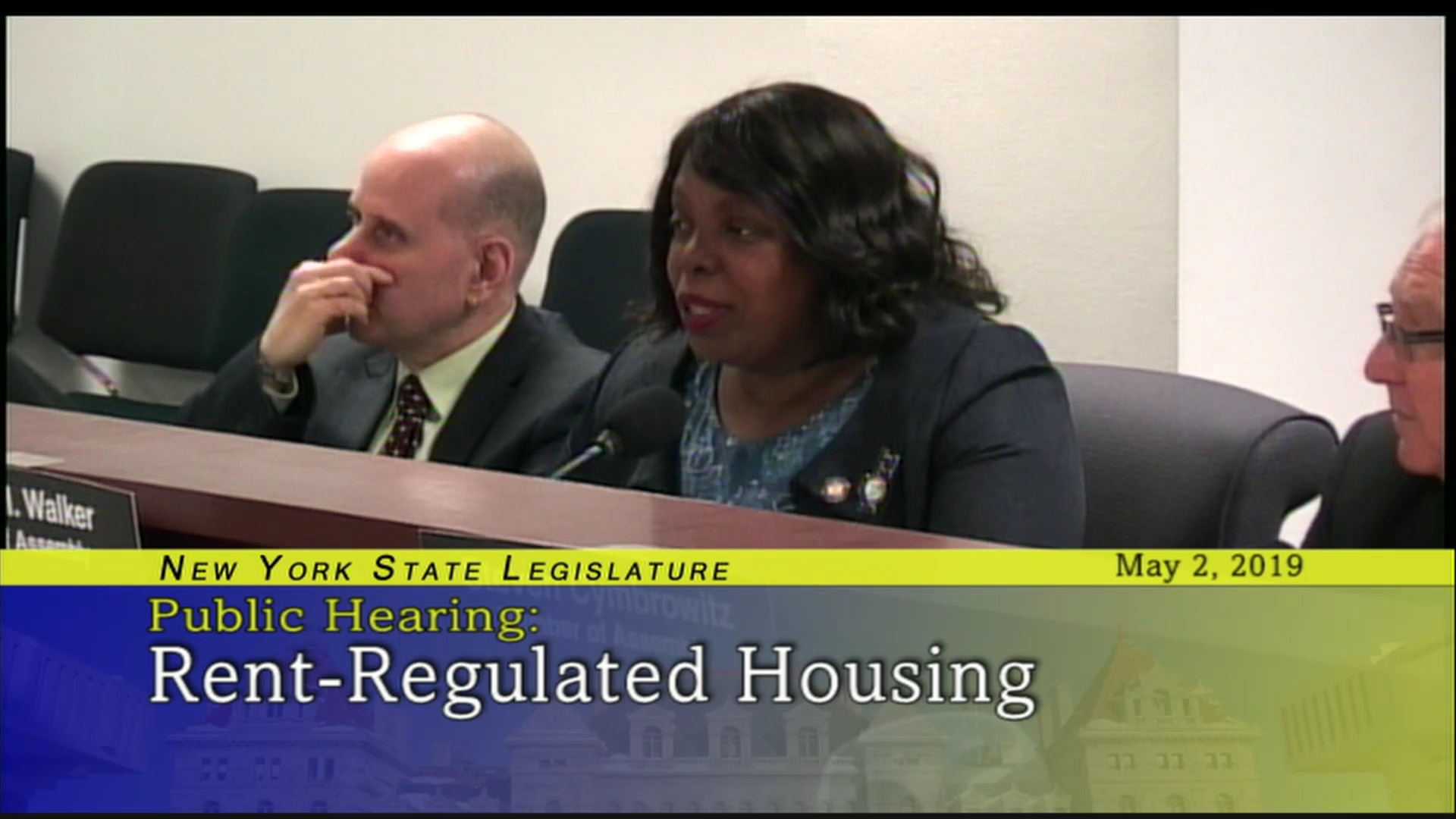 Assemblymember Walker Fights For Families In Public Housing