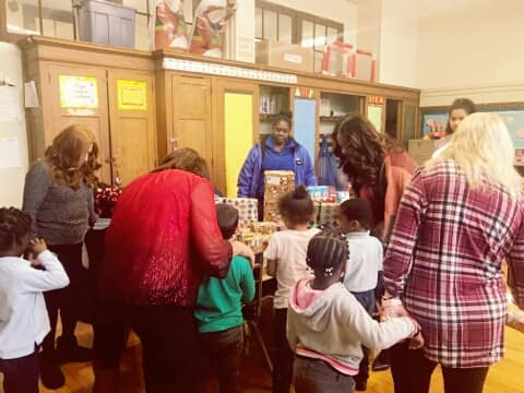 Holiday Toy Drive 2018 at P.S. 203