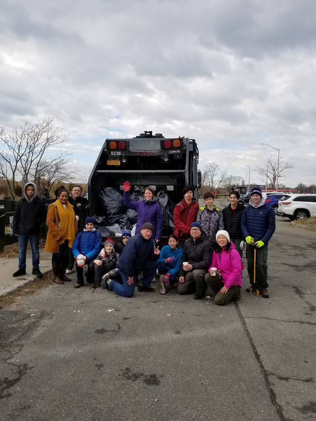 Plumb Beach Clean-up in conjunction with the Jamaica Bay Rockaway Parks Conservation, American Littoral Society and National Parks Conservation