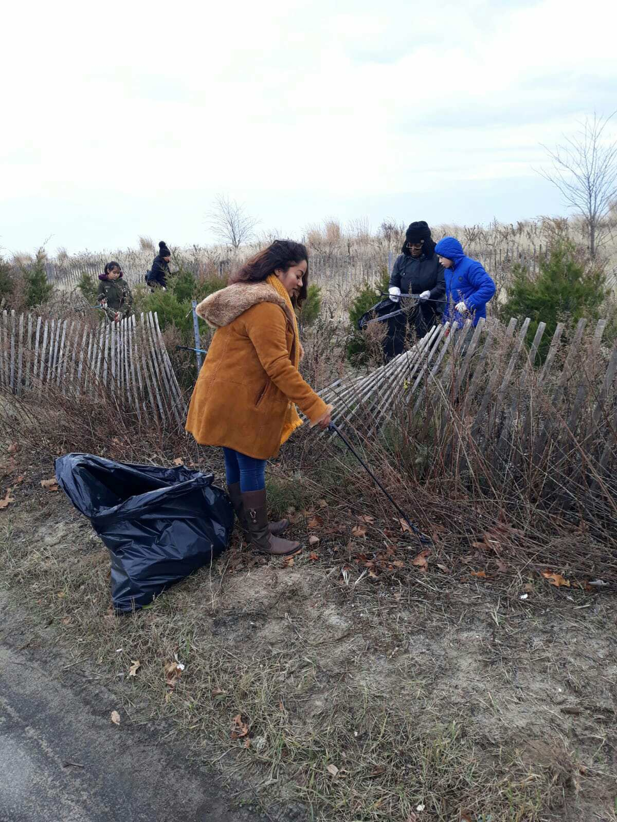 Plumb Beach Clean-up in Conjunction with the Jamaica Bay Rockaway Parks Conservation, American Littoral Society and National Parks Conservation.