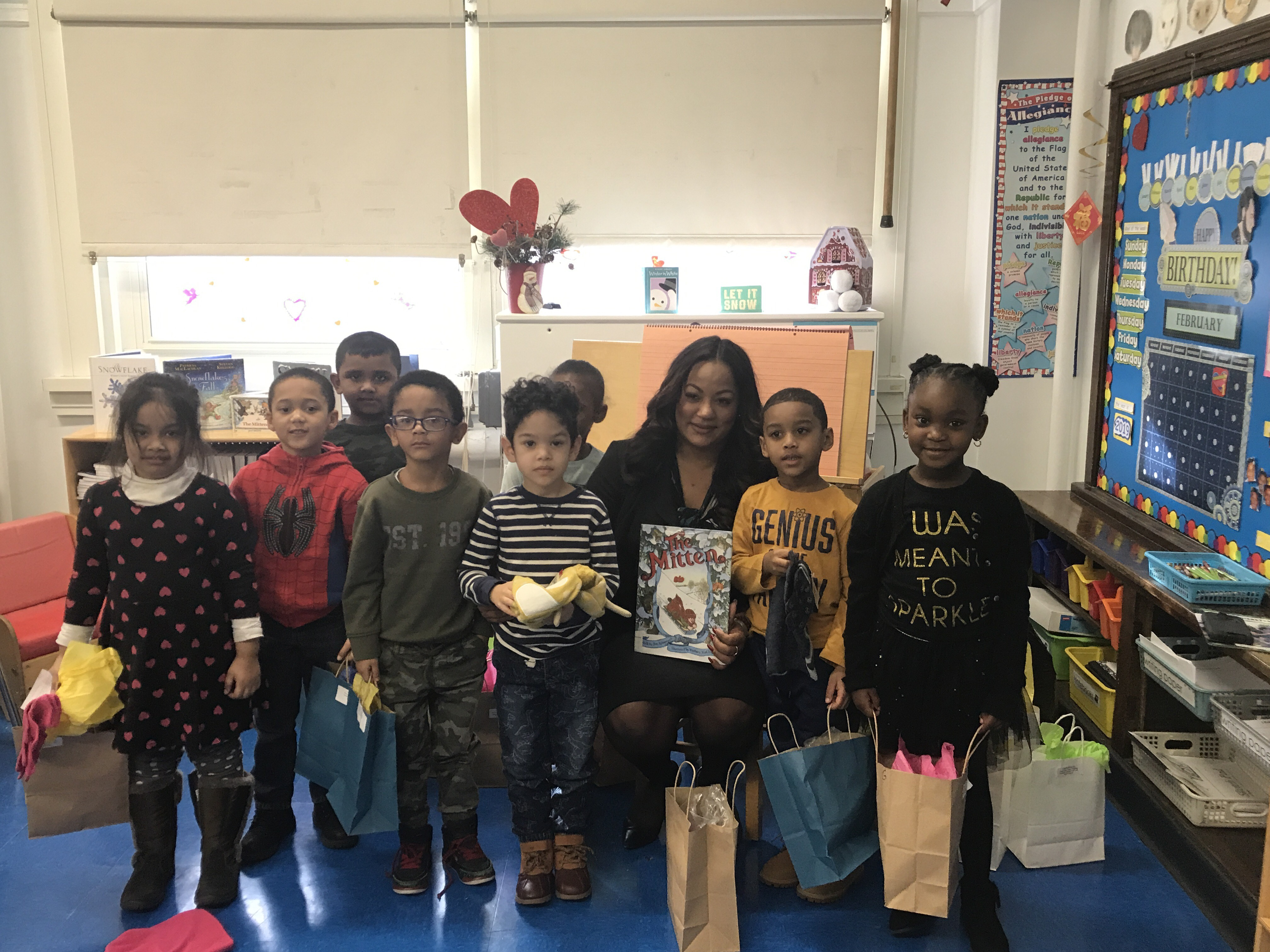 Celebrating World Read Aloud Day at PS 203