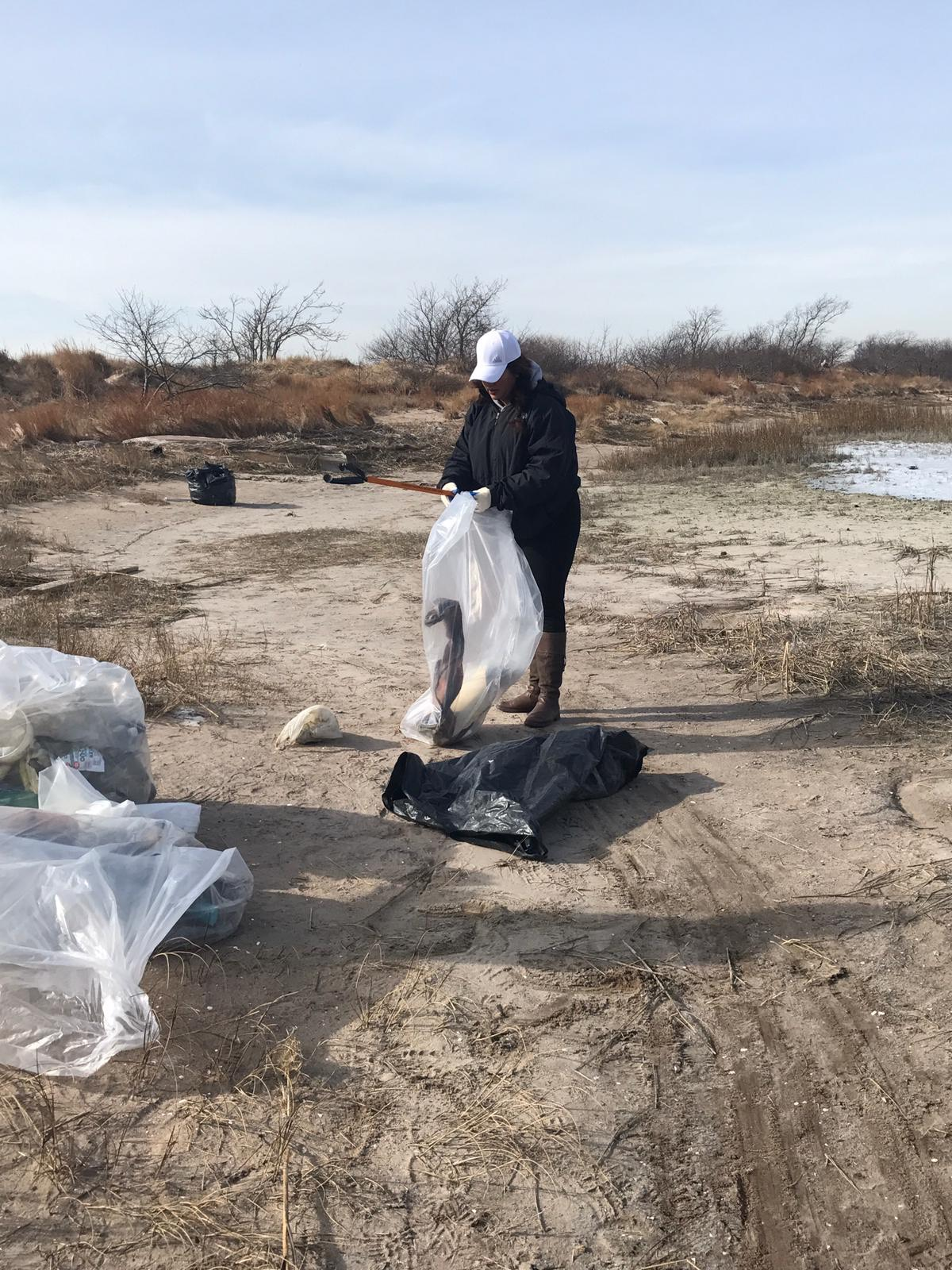 World Wetlands Day 2019 Plumb Beach Clean-up in Conjunction with the Jamaica Bay Rockaway Parks Conservation, American Littoral Society and National Parks Conservation.