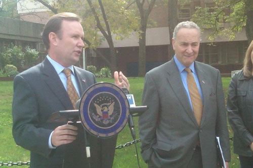 Assemblyman Cusick and Senator Schumer – Announcement of RX Program in Staten Island.