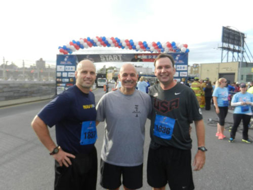 Stephen Siller Tunnel to Towers Run 2012.