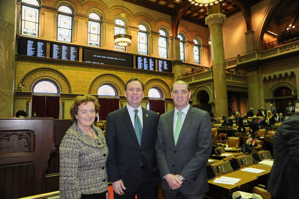 Assemblyman Cusick introduces a resolution in the Assembly memorializing Governor Cuomo to name April 24th, 2016 as