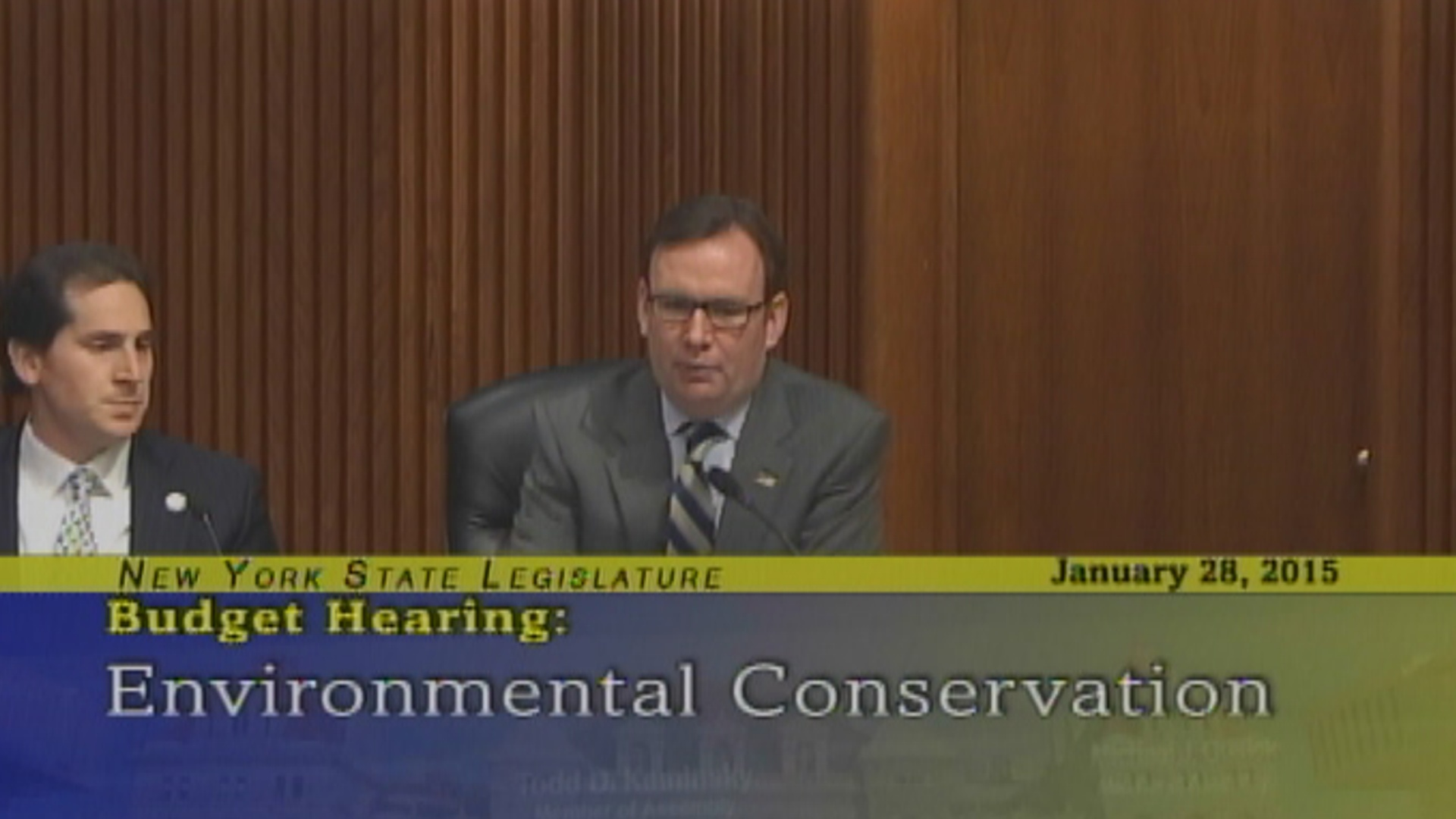 2015-2016 Environmental Conservation Budget Hearing