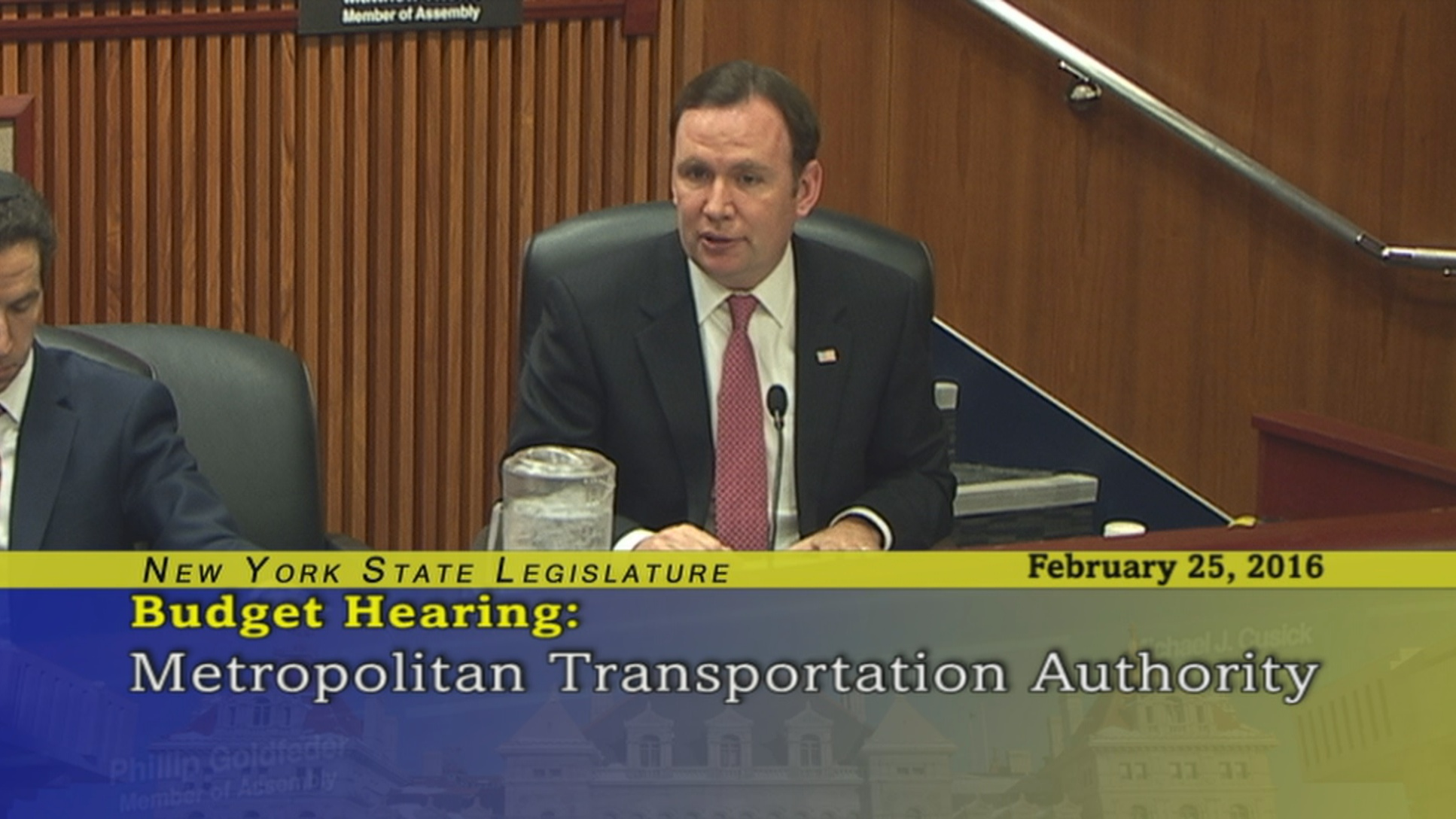 Joint Budget Hearing on the Metropolitan Transportation Authority