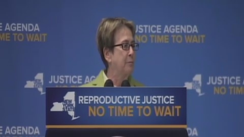 Glick Speaks at Reproductive Justice Press Conference