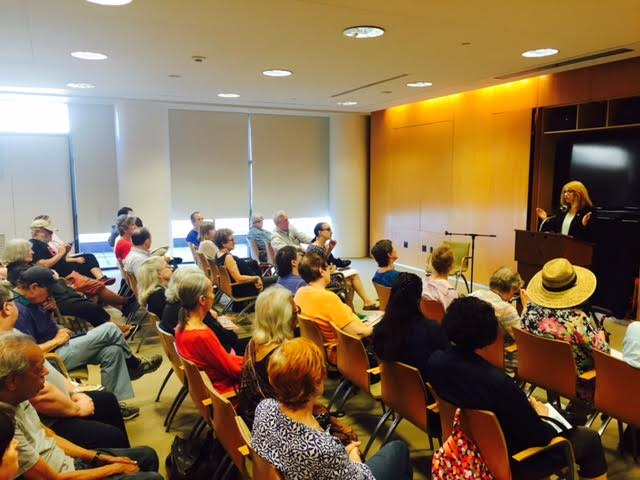 West 70s residents attend one of Assemblymember Linda B. Rosenthal&#39;s annual 10-block town hall event at the Marlene Meyerson JCC Manhattan.<br />&nbsp;