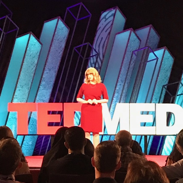 Assemblymember Linda B. Rosenthal takes center stage at TEDMED to discuss her work on menstrual equity, the tampon tax and her bills to increase access to menstrual hygiene products for women and girl