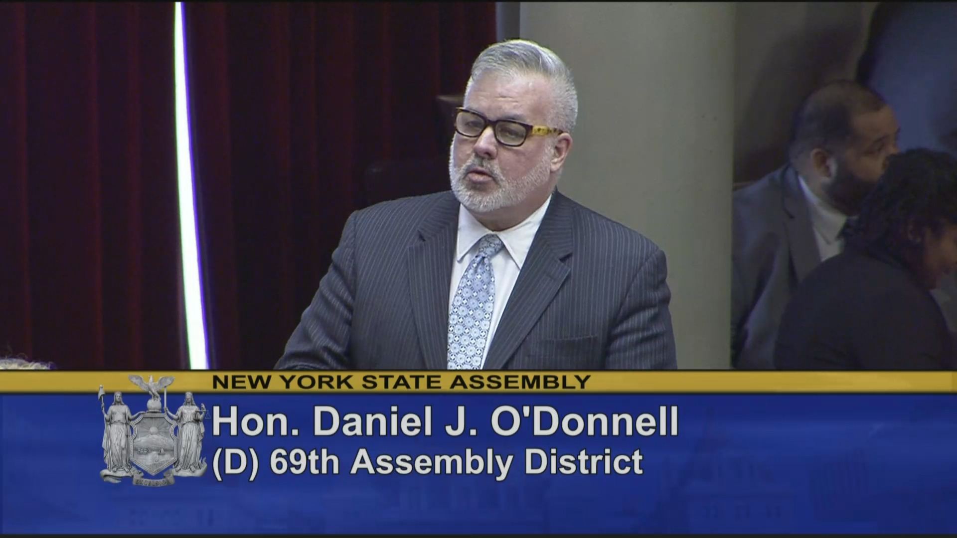 O'Donnell Helps Pass Gun Safety Bill