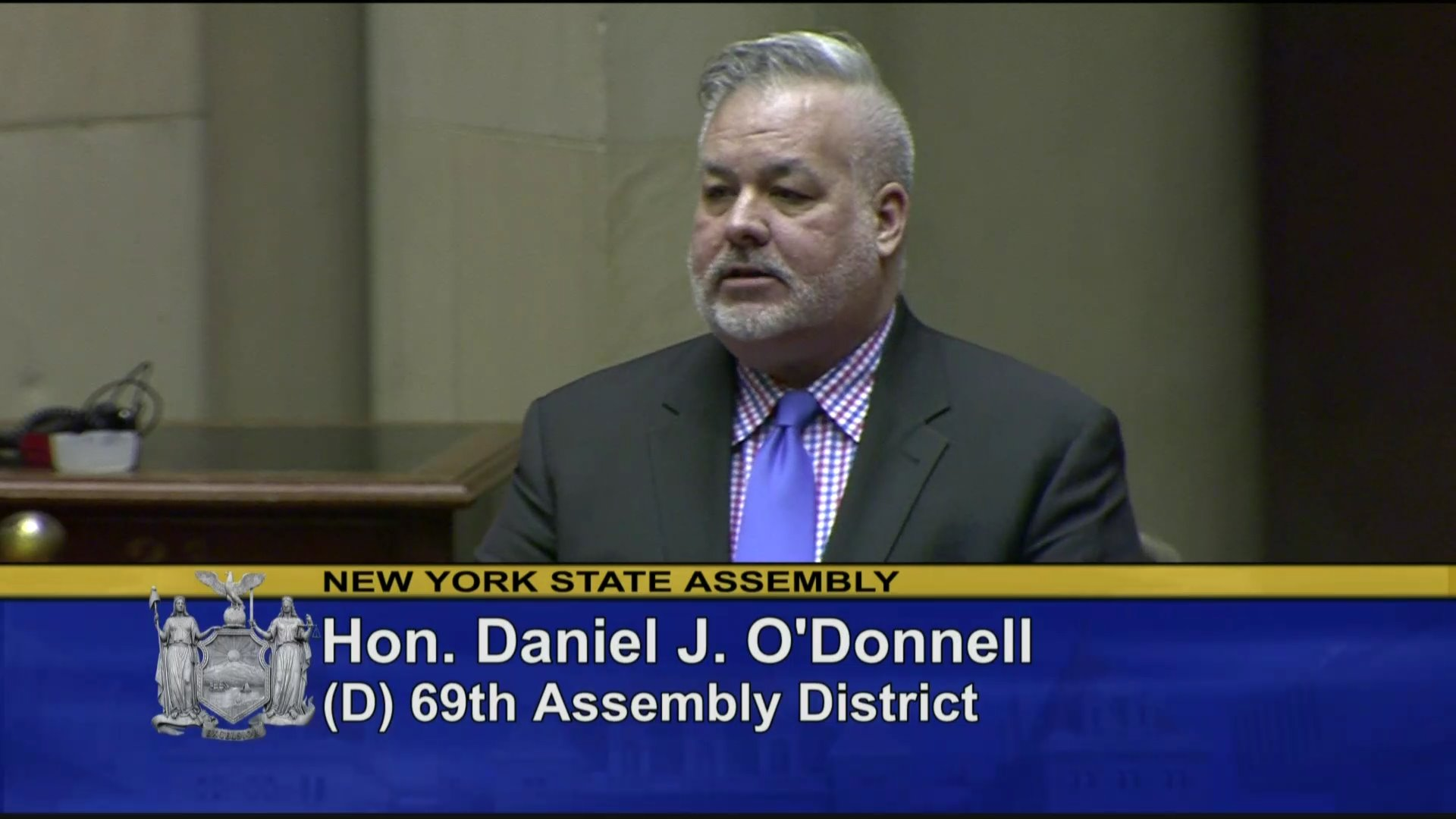 O'Donnell Debates Bill to Keep Guns Away From Domestic Violence Offenders in State Budget