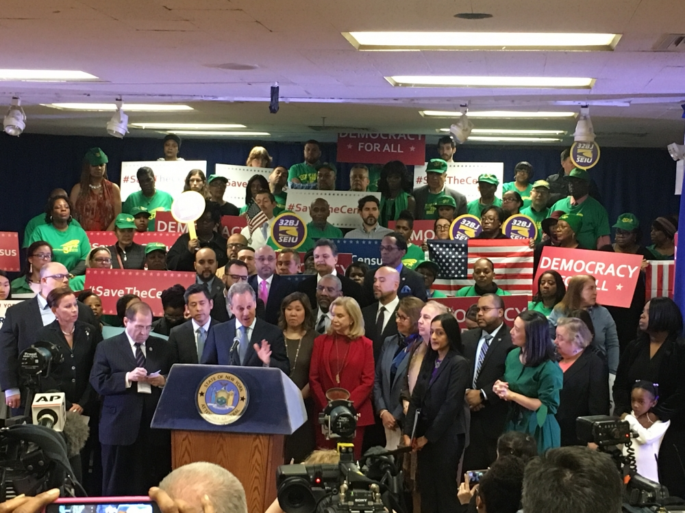 Assemblymember Al Taylor joined State Attorney General Eric Schneiderman, members of the New York State Association of Black, Puerto Rican, Hispanic and Asian Legislative Caucus and others in support