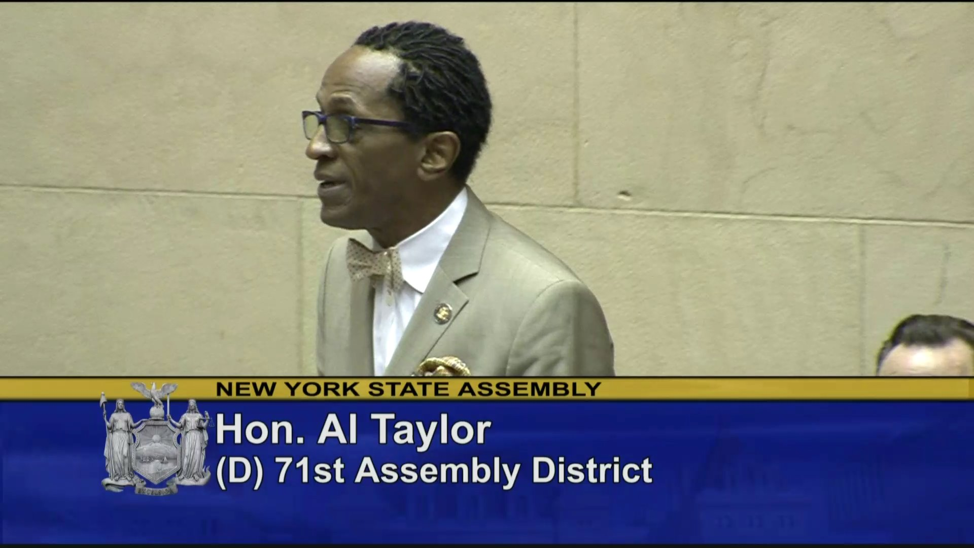 Assemblyman Taylor Welcomes Members of the Garifuna Community