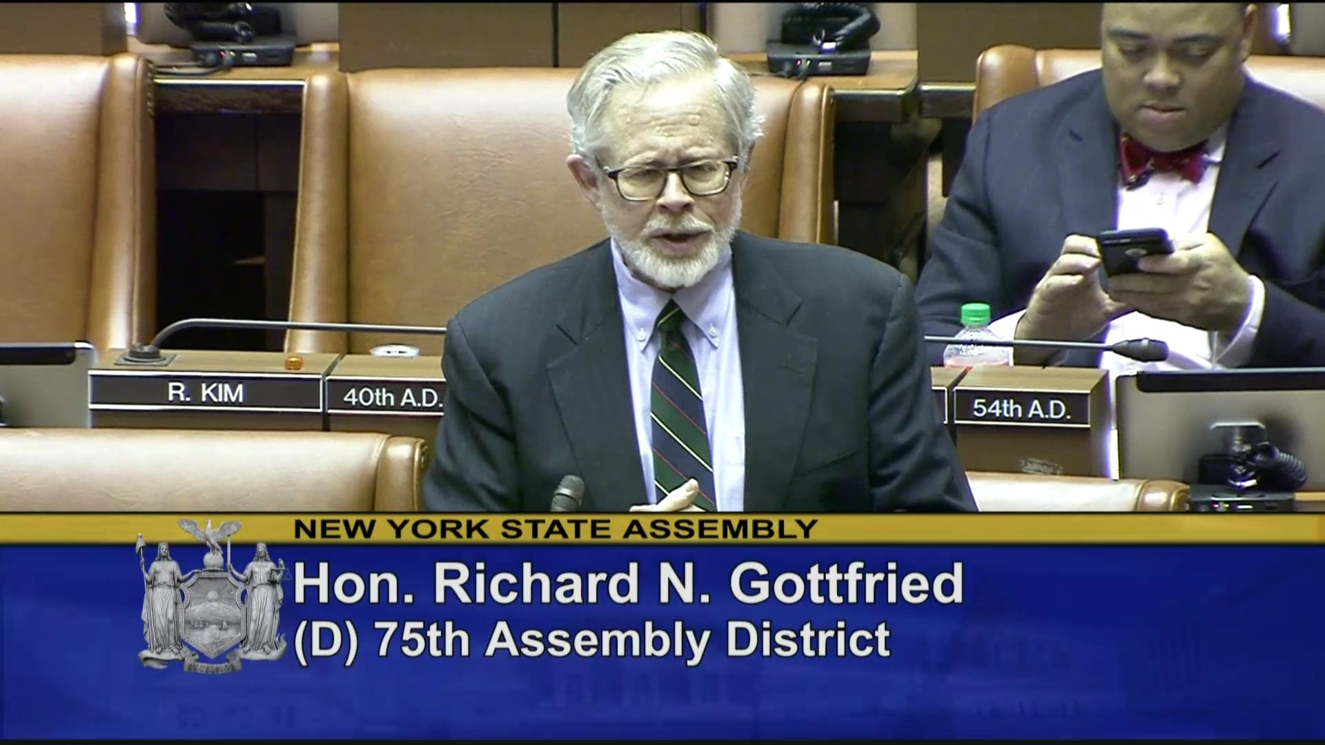 Gottfried Helps Pass Comprehensive Contraception Coverage Act