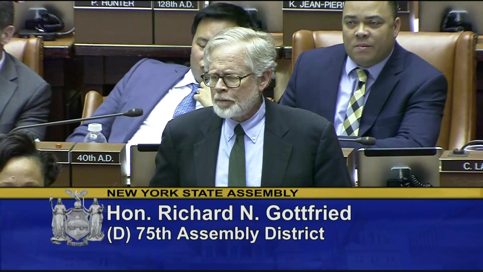 Assembly Member Gottfried Votes for Budget Proposal