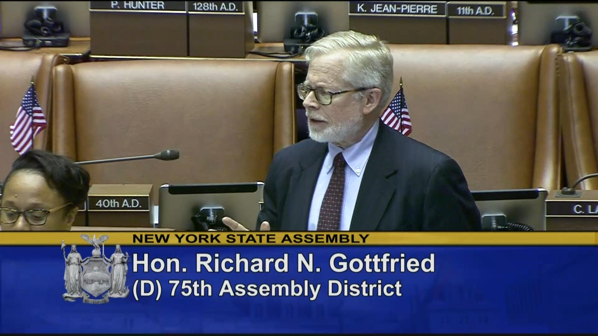 Gottfried Legislation would Establish NYS Health Act