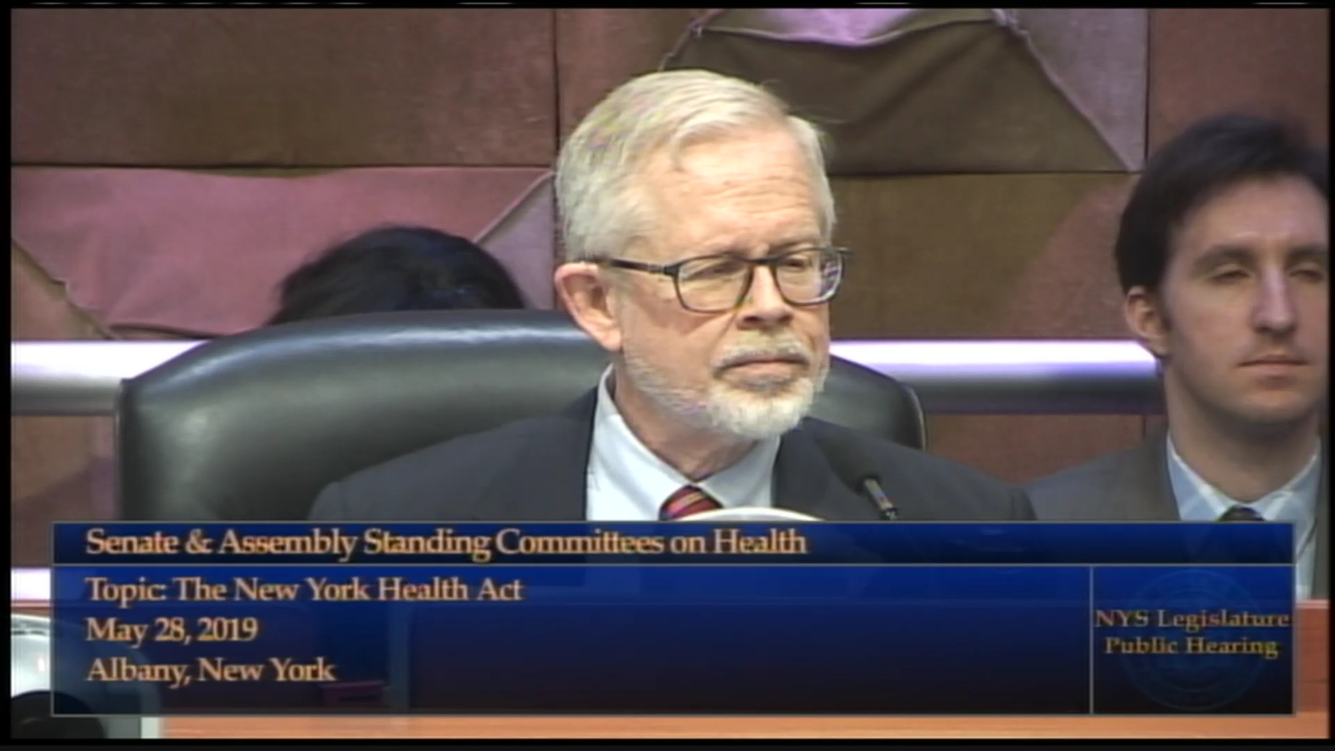 Gottfried: Drug Formularies & NY Health Act