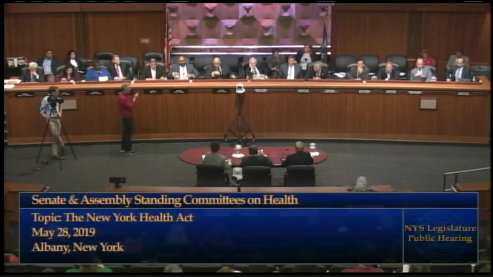 Gottfried Discusses Universal Single-Payer Health Coverage Proposal