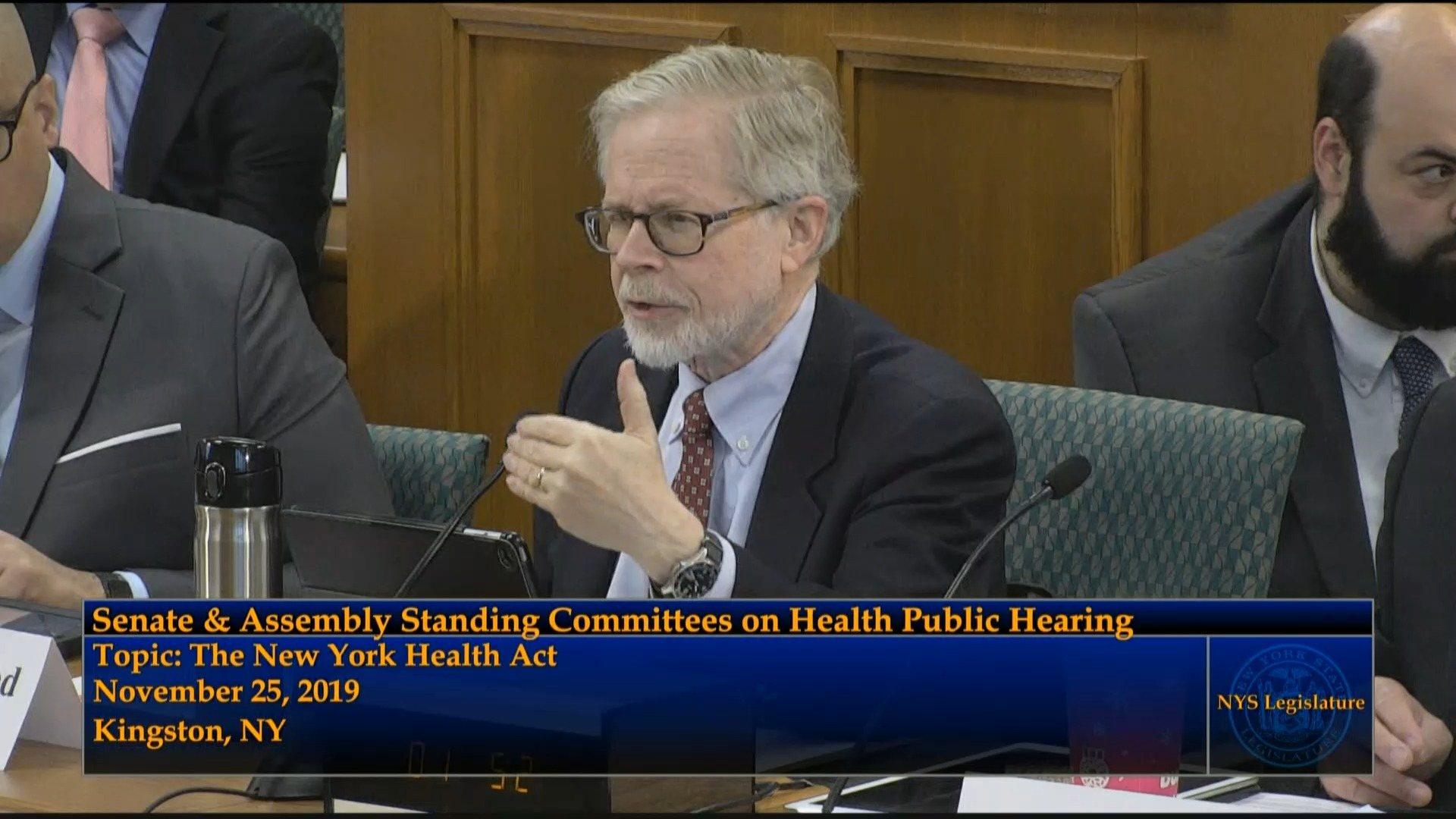 Public Hearing on the New York Health Act (1)