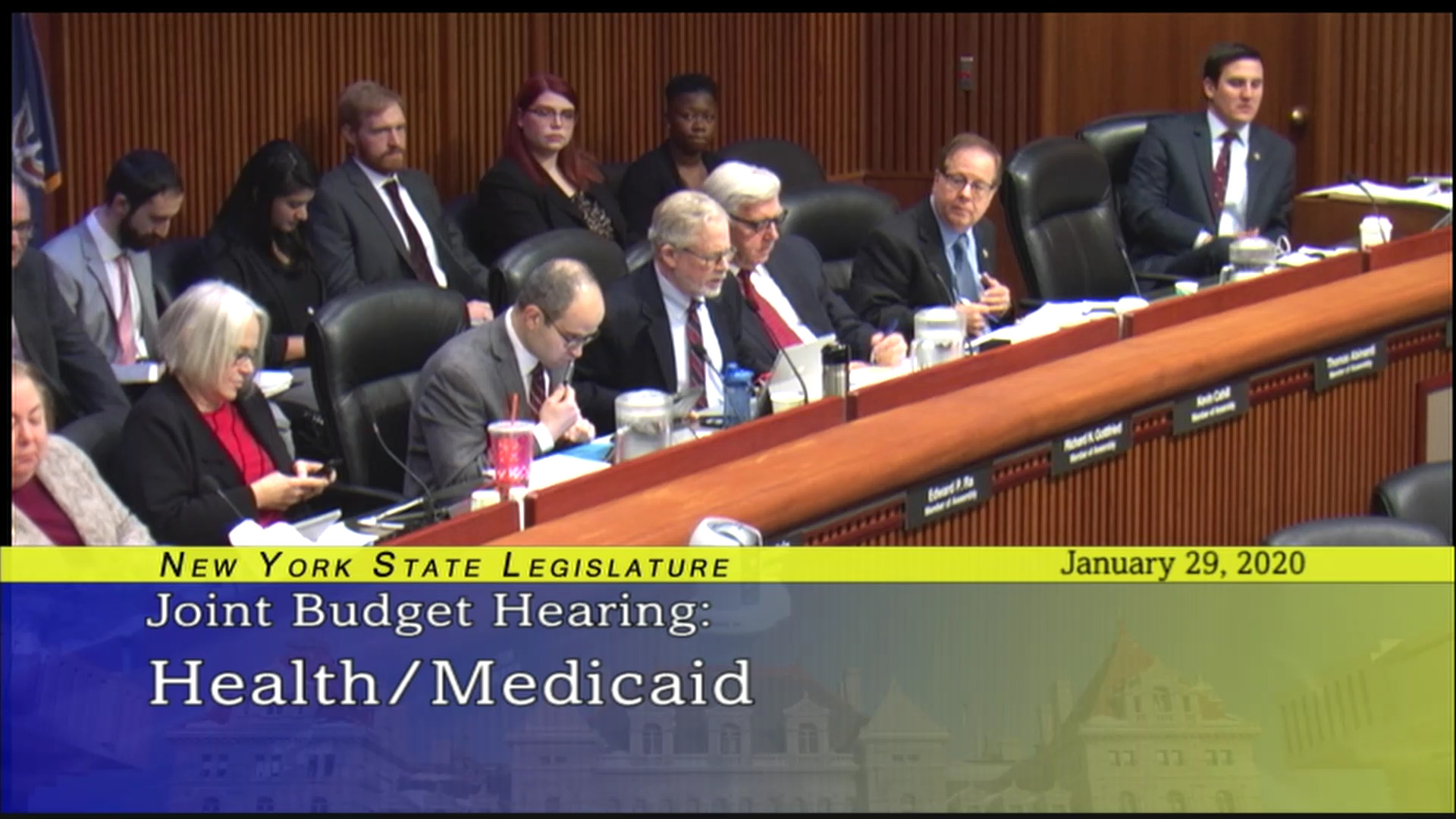 2020 Joint Budget Hearing on Health (2)