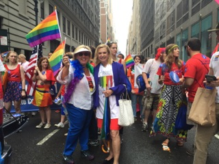 Assembly Member Seawright celebrates Pride with Congresswoman Carolyn Maloney on June 28th 2015