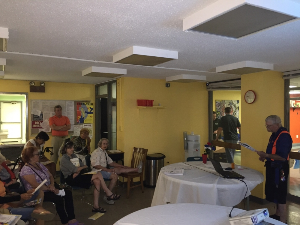 August 5, 2015— Roosevelt Island Seniors Association, Roosevelt Island---Assembly Member Seawright hosts an American Red Cross emergency preparedness course.