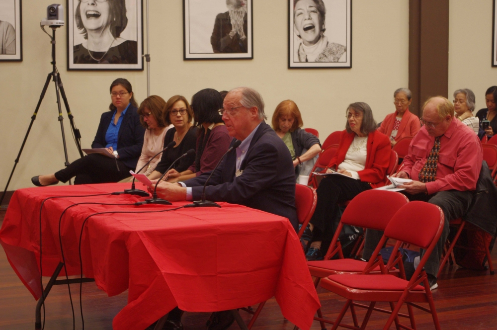James Arnold, AARP, testifying at the Assembly Member's Senior Consumer Fraud Hearing.