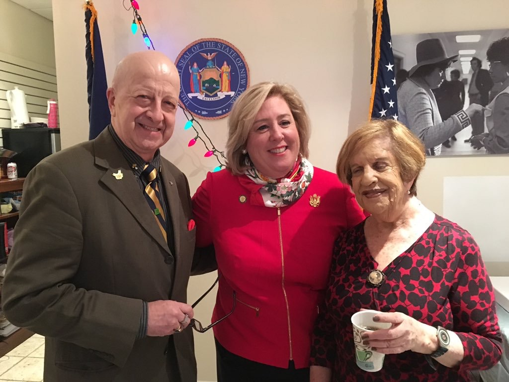 December 10, 2015--- Community Office, NYC---Assembly Member Rebecca A. Seawright hosts the residents of the Upper East Side and Roosevelt Island at a holiday open house.
