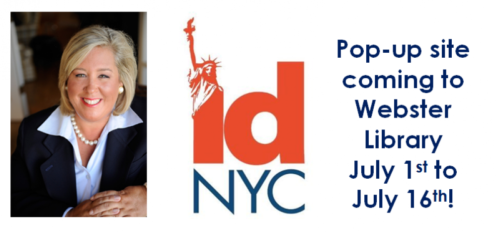 "Enroll in IDNYC with Assembly Member Seawright! <a href=""https://idnyc.appointment-plus.com/"" target=""blank"">Pop-Up site will come to Webster Library from July 1-July 16</a>."