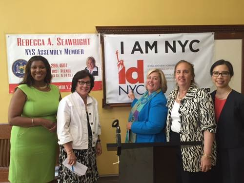 IDNYC, NYPL, and Assembly Member Rebecca A. Seawright Announce New IDNYC Pop-up Enrollment Center on the Upper East Side