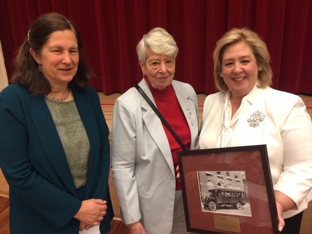Lenox Hill Neighborhood House Bestows the Elizabeth Rohatyn Award on Rebecca Seawright<br />(From left): Elizabeth Munson, Chair of Board of Directors at Lenox Hill Neighborhood House, Helene Goldfarb, Lenox Hill Neighborhood House Board Member, and Assembly Member Seawright.<br />