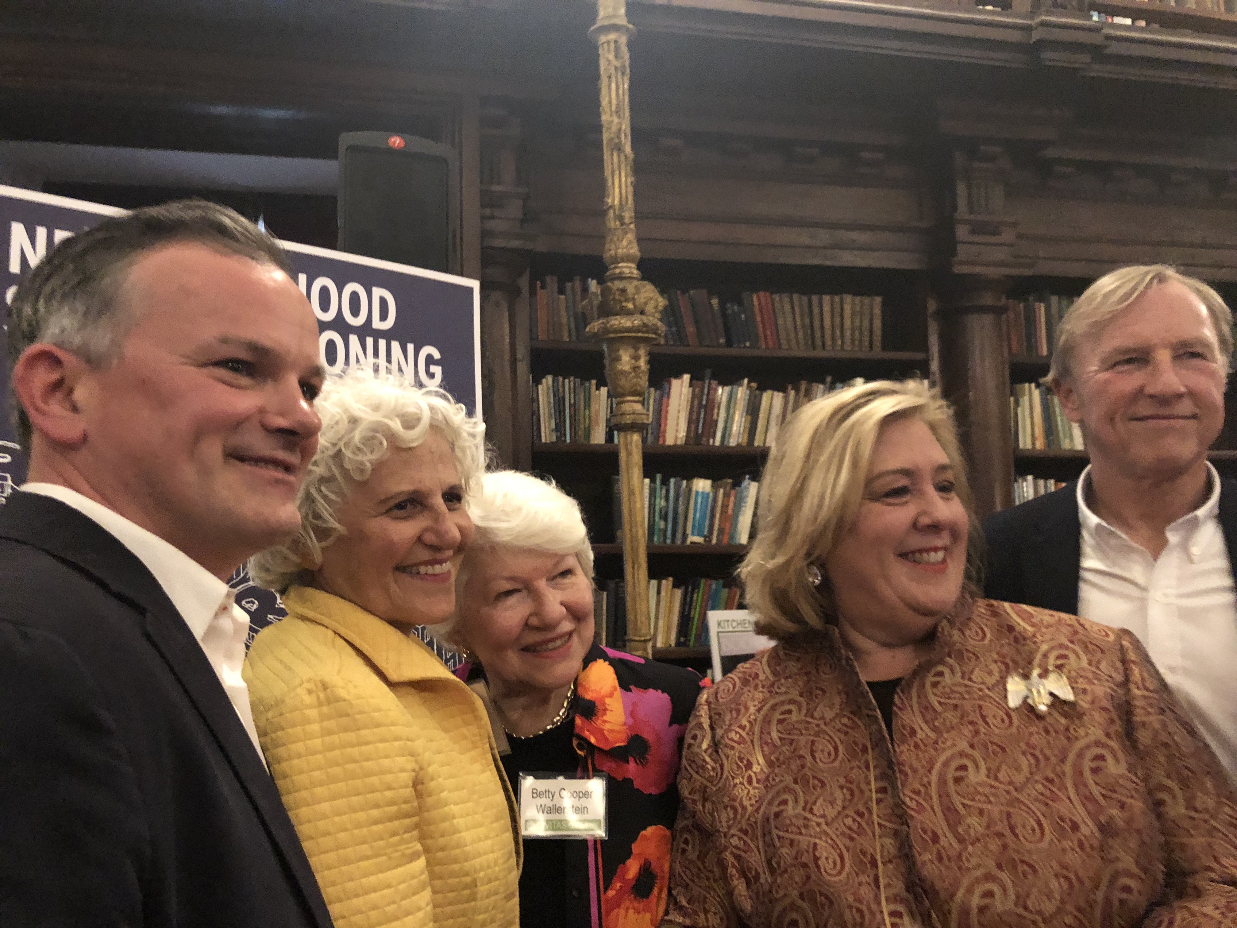 On the occasion of the Spring 2018 CIVITAS Annual Benefit honoring local businesses dedicated to their neighborhoods and customers, Assembly Member Seawright honored and recognized the outstanding contributions of Our Town Newspaper President Jeanne Straus. East 79th Street Neighborhood Association President Betty Wallerstein with honoree Jeanne Straus and Rebecca Seawright.