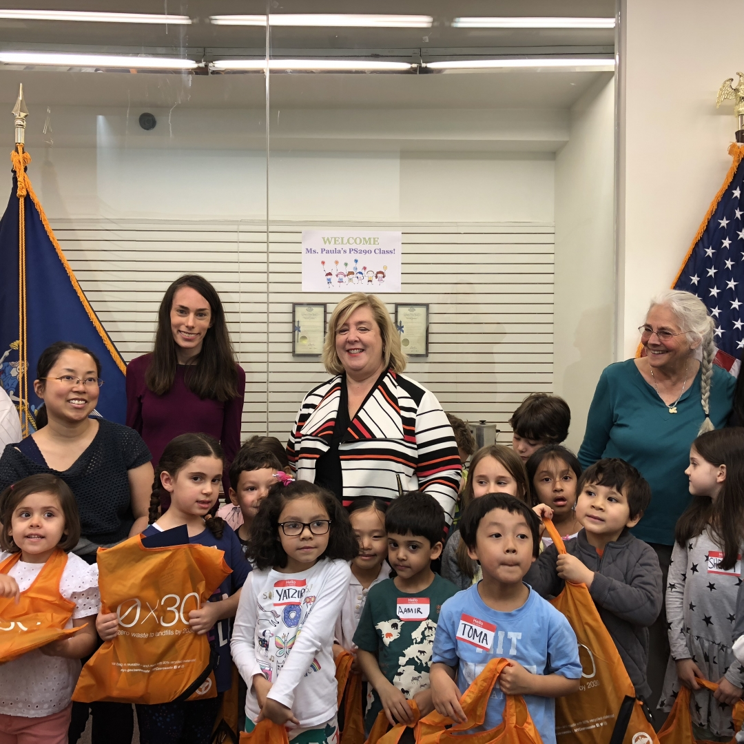 """Nothing must stand in the way of the well-being and growth of our children,"" said Assembly Member Rebecca Seawright."
