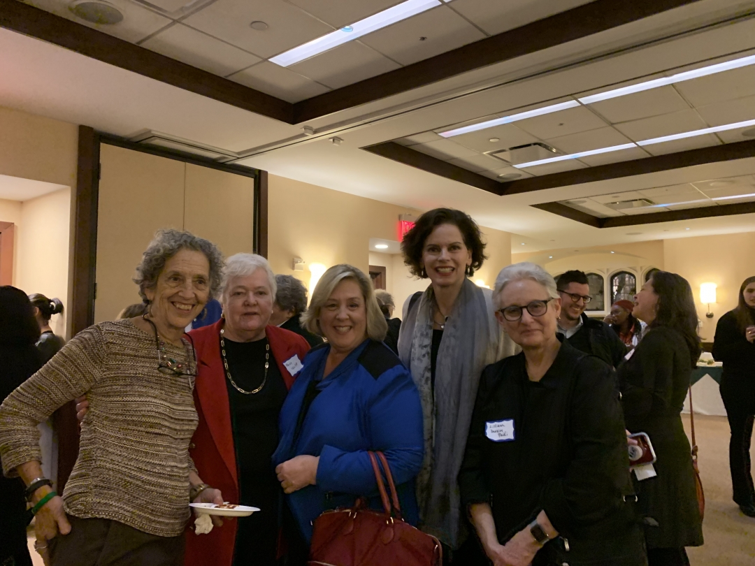 Former Manhattan Borough President Hon. Ruth Messinger, Dr. Elaine Walsh, Assembly Member Rebecca Seawright, Assembly Member Pat Fahy, and Former Human Resources Administration Commissioner Hon. Lilli