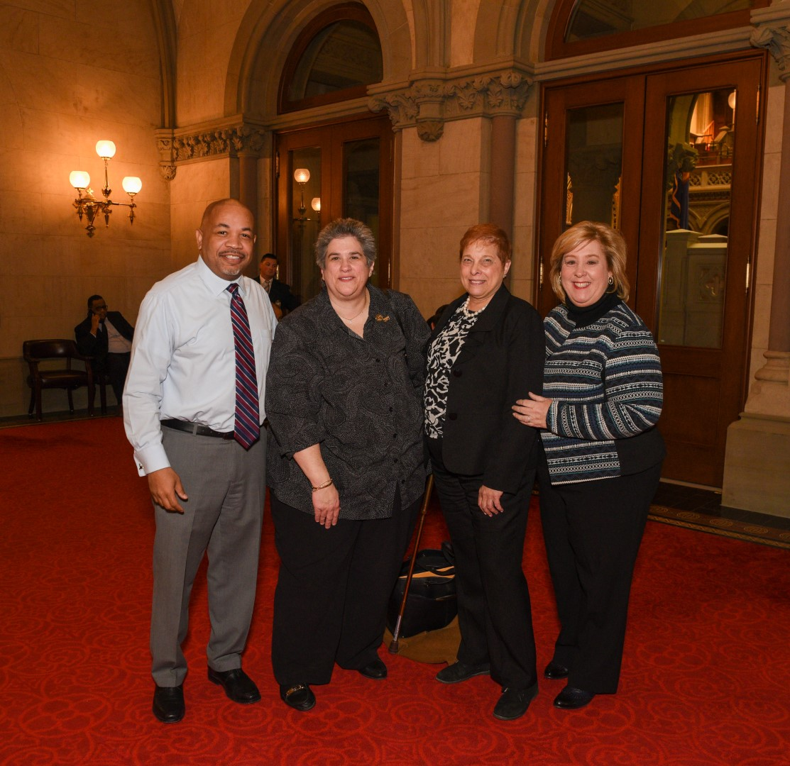 Seawright introduced her guests to Speaker Heastie and the Assembly: