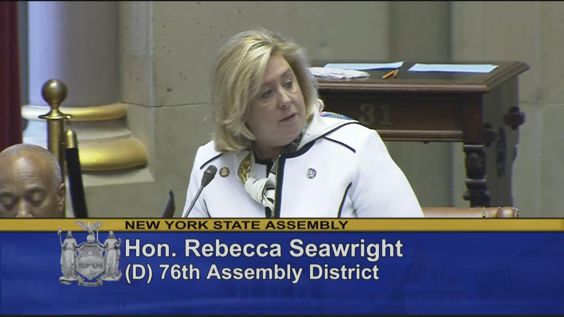 Seawright Honors Edie Windsor on Assembly Floor