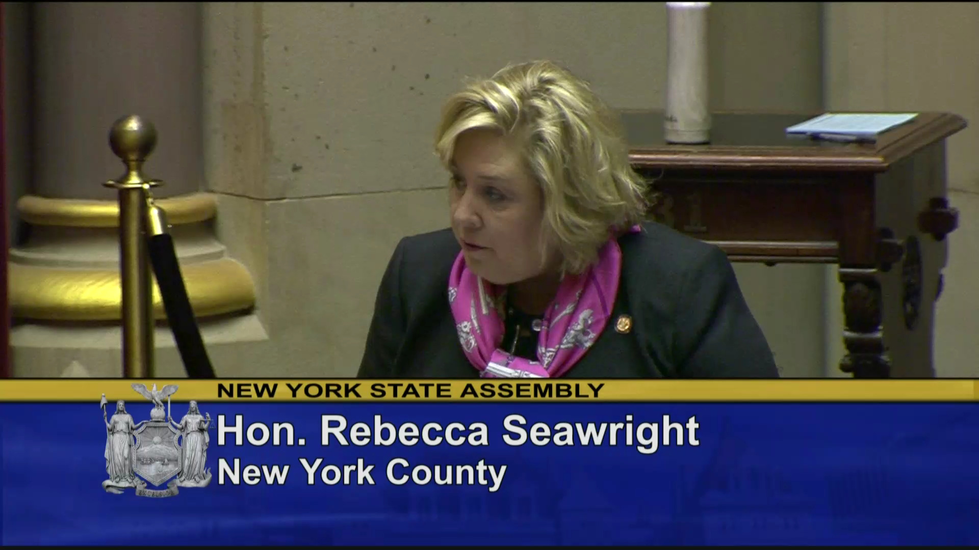 Seawright Discusses the Importance of the Reproductive Health Act