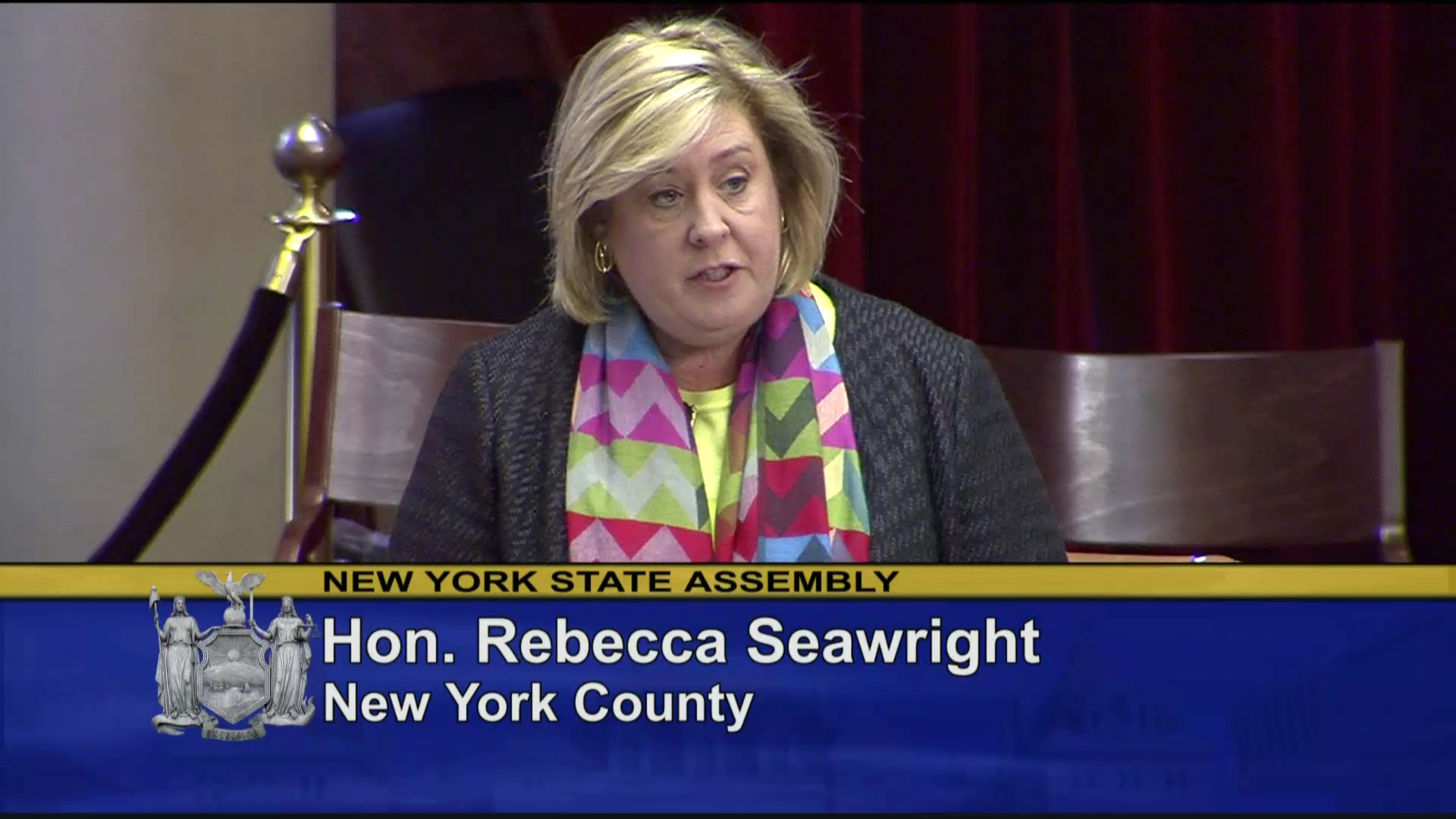 Seawright Fights for Transparency in Elections