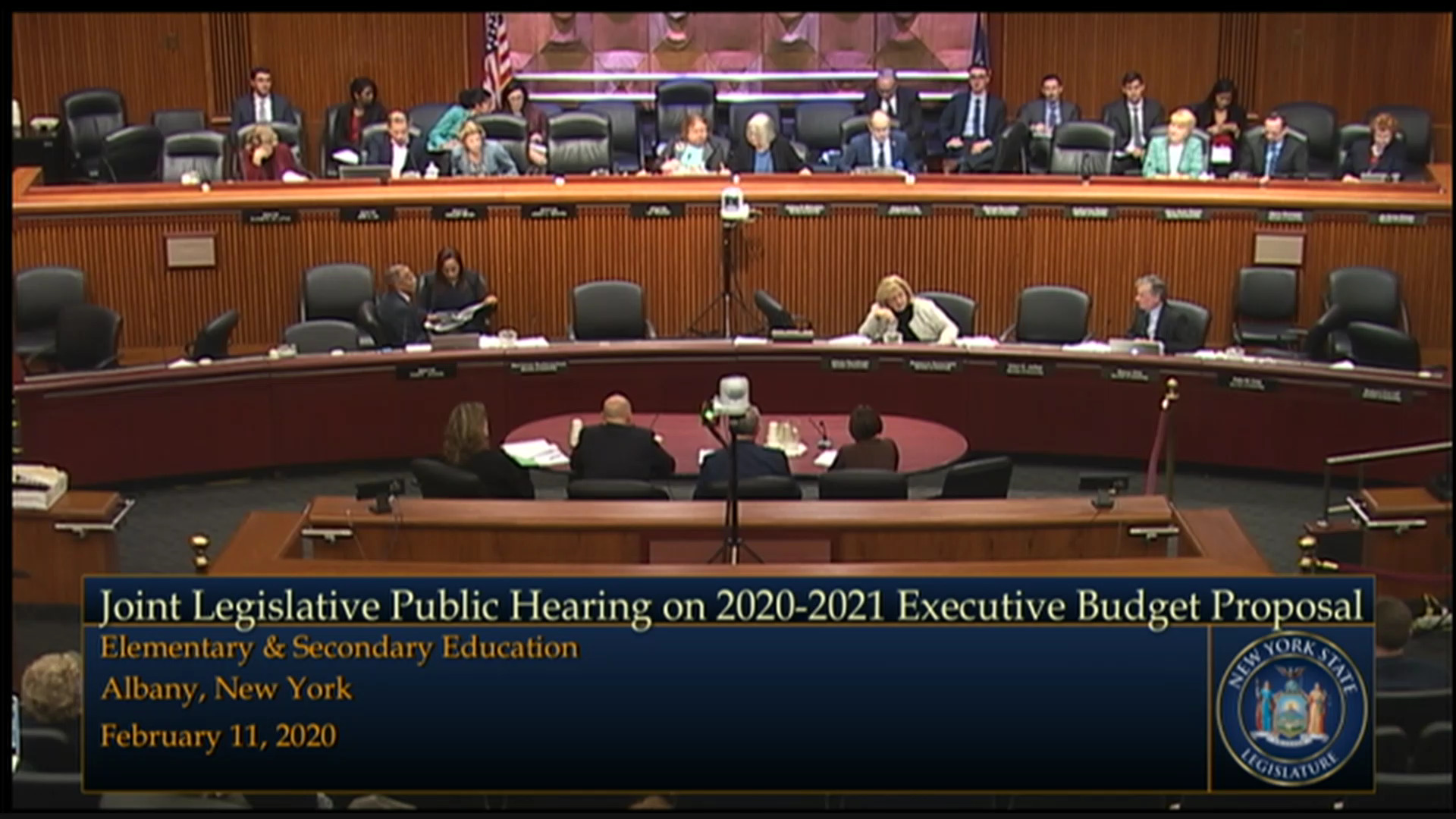 Mulgrew Testifies During Budget Hearing on Elementary and Secondary Education