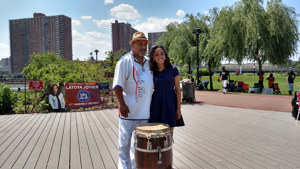 Focusing on supporting the community with great outdoor family fun, Assemblywoman Joyner held her first annual Mill Pond Park Summer Stage, which included free giveaways and musical performances.
