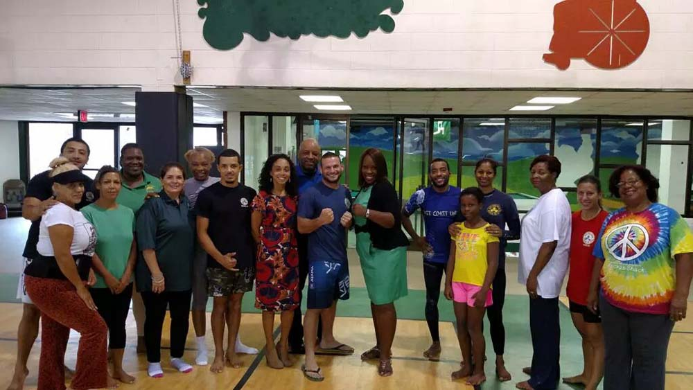 Assemblywoman Joyner, in conjunction with Council Member Vanessa Gibson, NYPD's 46th Precinct and Roberto Clemente State Park, offer free self-defense classes to women.