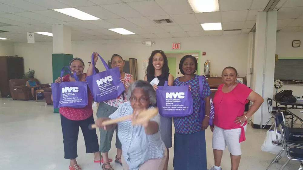 Assemblywoman Latoya Joyner, with the help of the Mayor's Office to Combat Domestic Violence's Family Justice Center, provided a free senior safety awareness workshop to the community.