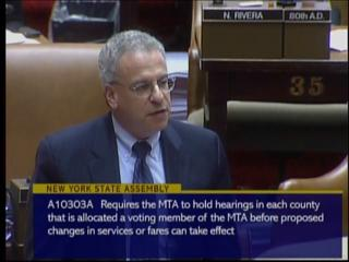 MTA Hearing Legislation