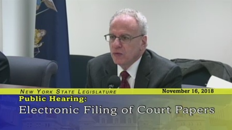 Dinowitz Discusses the Electronic Filing of Motions
