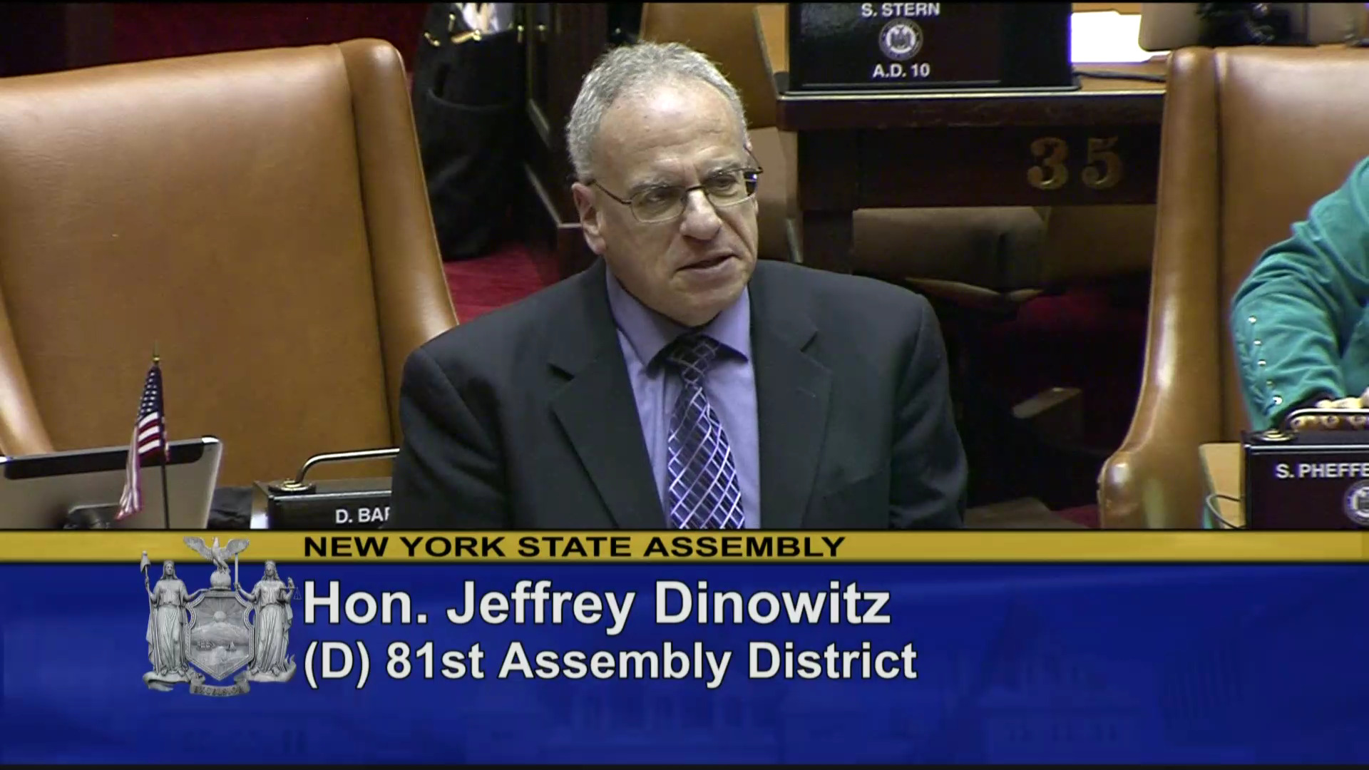 Dinowitz Works to Prevent Dangerous Individuals from Obtaining Guns