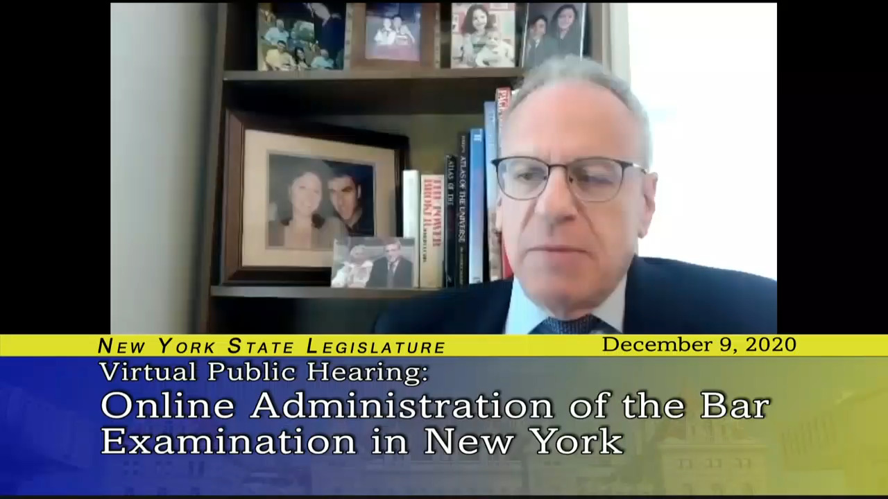 Reviewing the on Online Administration of the Bar Examination in New York