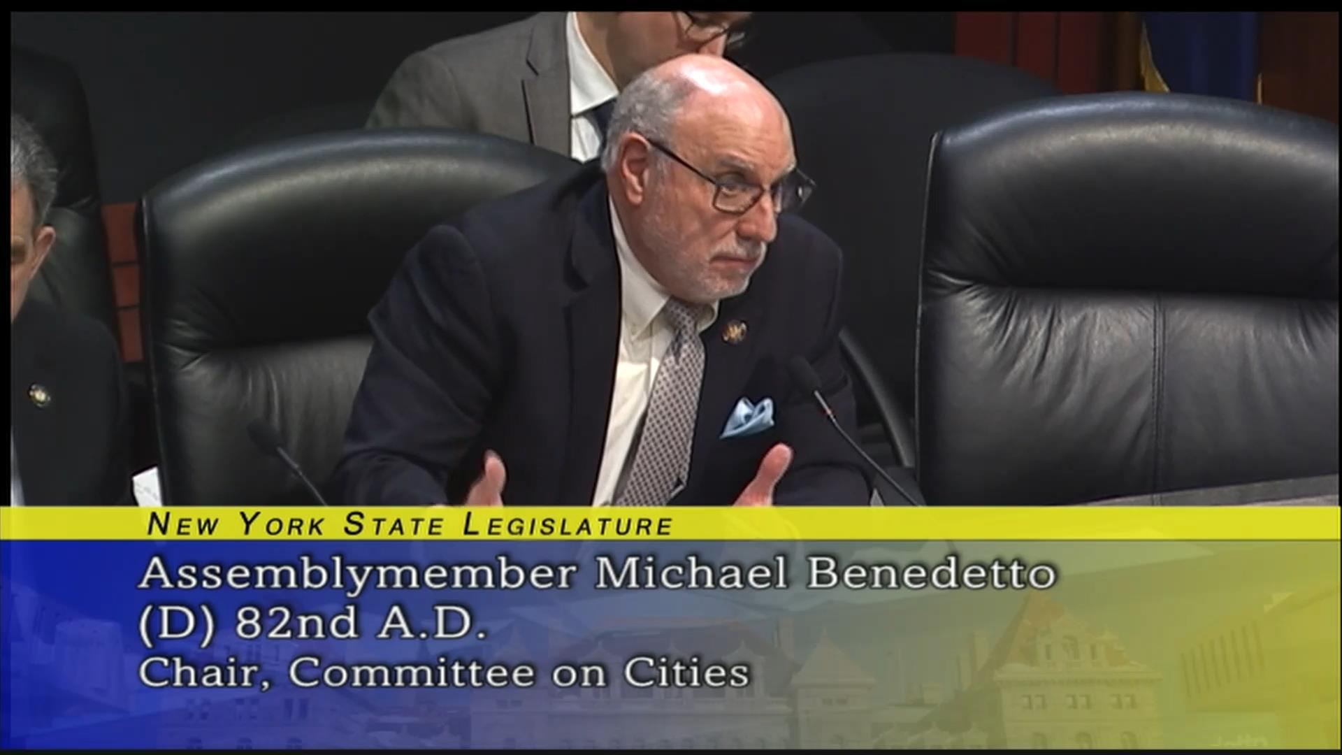 Benedetto Inquires About Scheduling within Counties