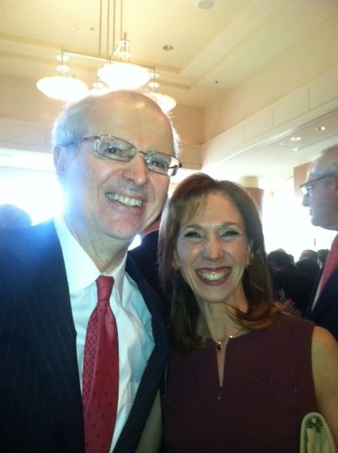 Chief Justice Jonathan Lippman and Amy Paulin are at the Equal Access to Justice dinner of Legal Services of the Hudson Valley where she received the Advocate for Justice Award.